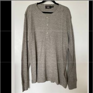 Ralph Lauren Double Thermal Knit Cotton Henley